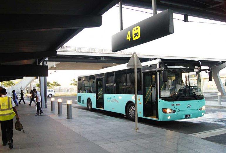 إدارة المرور تناشد لاستخدام المواقف قصيرة الأمد في مطار حمد الدولي