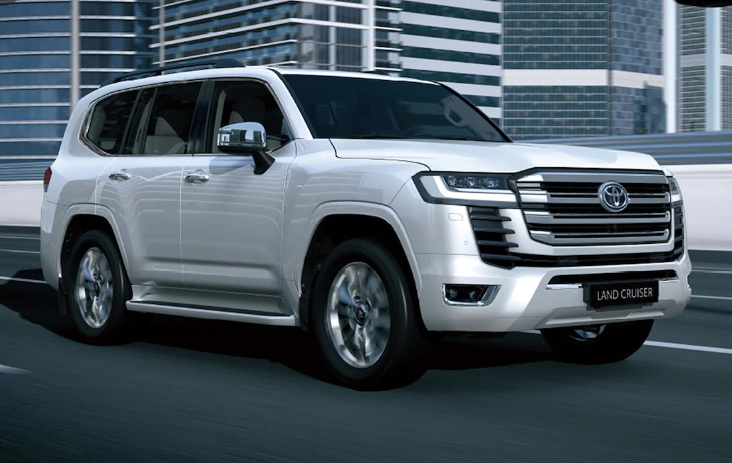 Video .. 2022 Toyota Land Cruiser First Look