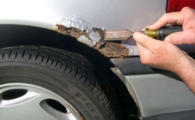 How to Remove Rust from your Car?