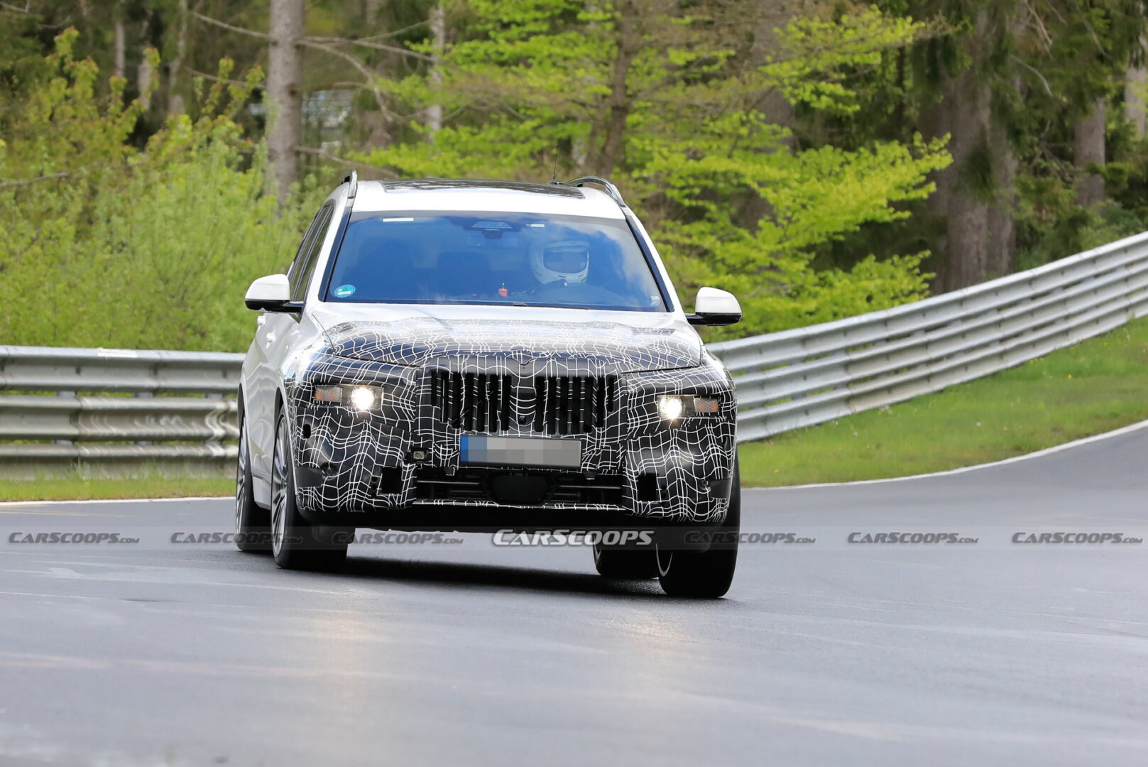 BMW X7 2022 facelift appears clearly during testing