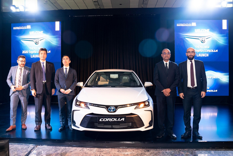 شركة عبدالله عبد الغنى وإخوانه تطلق كورولا الجديدة كلياً في قطر