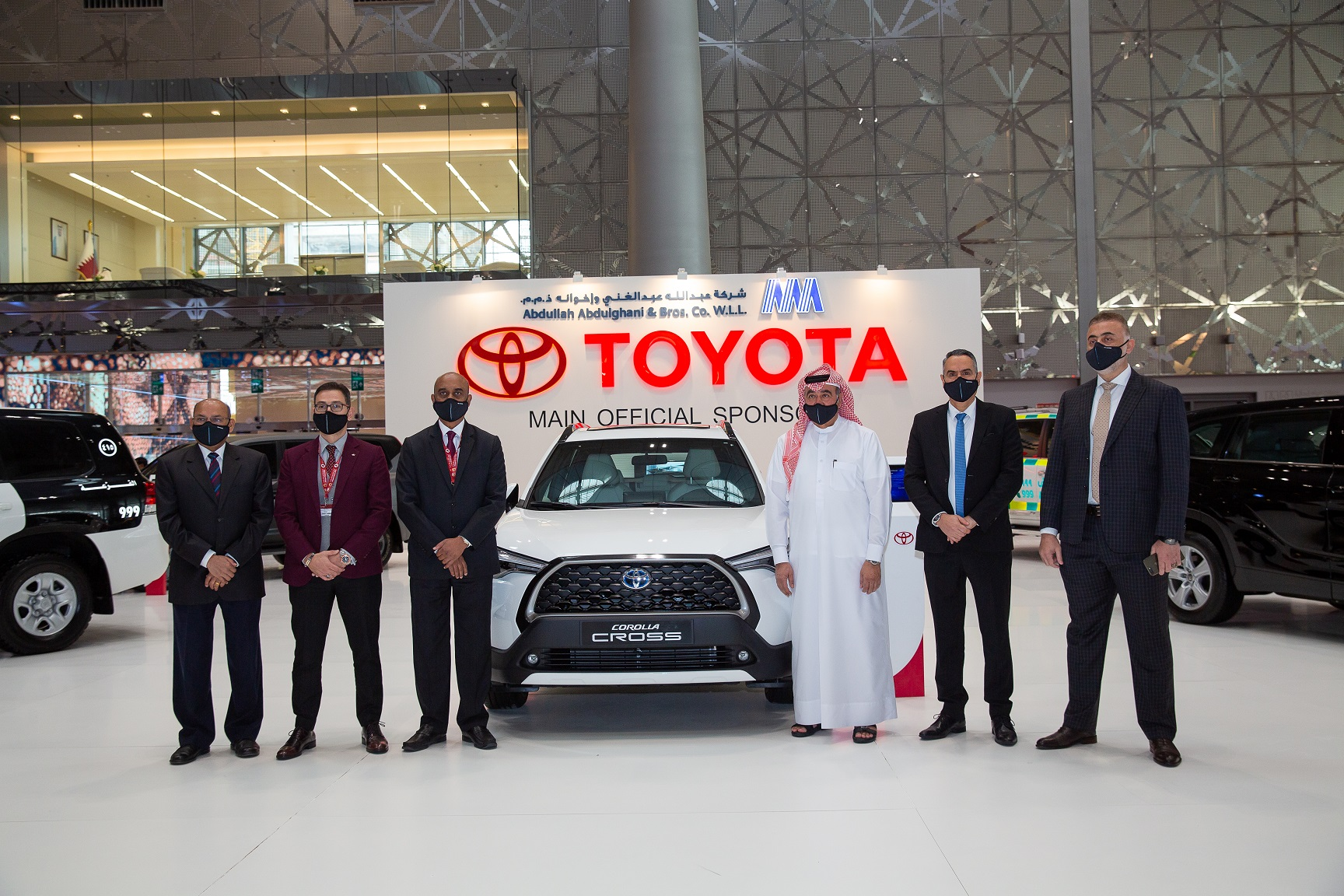 AAB launches the All-New Electric Hybrid Corolla Cross